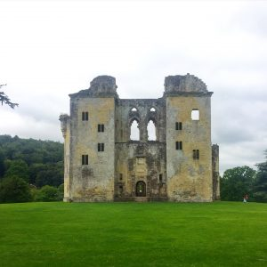 Old Wardour Castle near Tisbury Wiltshire
