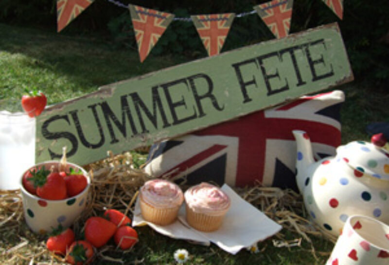 Donhead Fete community support